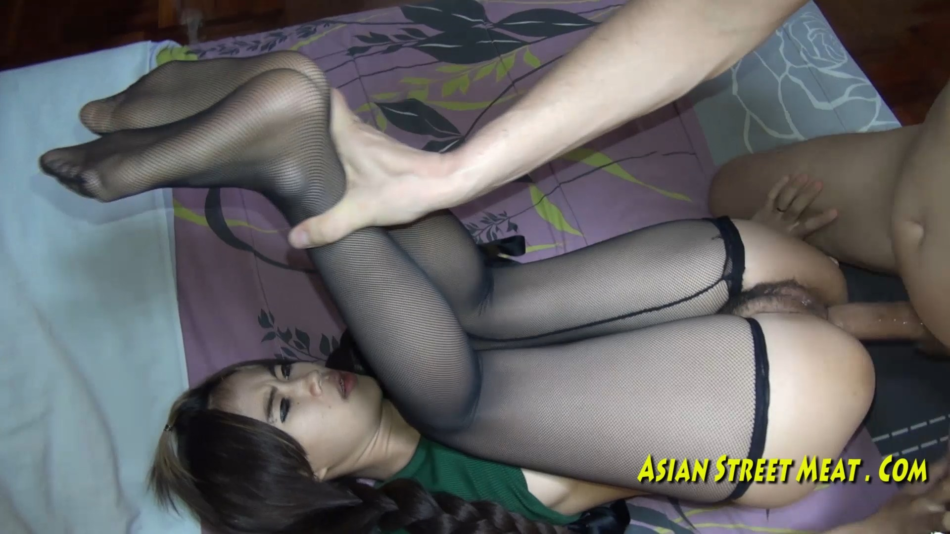 Anal asian creampie meat street
