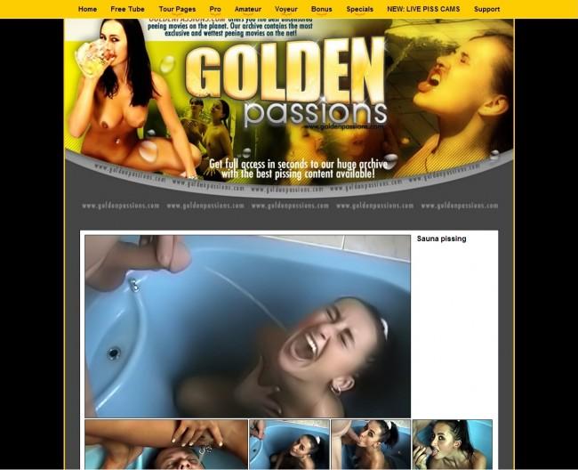 GoldenPassions LOGOS