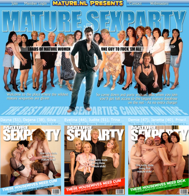 Mature-Sexparty LOGOS